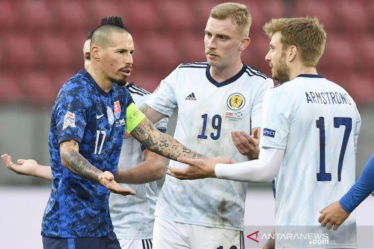 UEFA Nations League : Slovakia vs Skotlandia