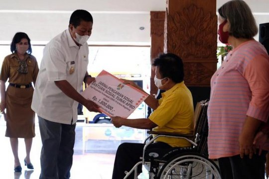 Pemkot Magelang serahkan bantuan JPS Rp3,5 miliar kepada 1.965 KPM