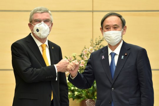 PM Suga menyesal harus terima kritik sebelum penyelenggaraan Olimpiade