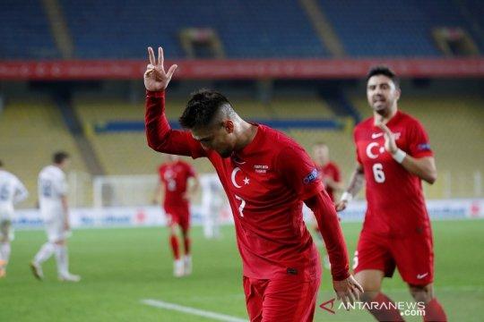 Turki akhirnya petik kemenangan perdana Nations League