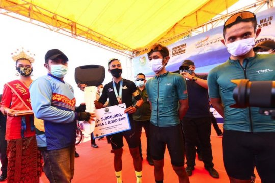 1.525 peserta ikuti ajang balap sepeda Ranau Gran Fondo