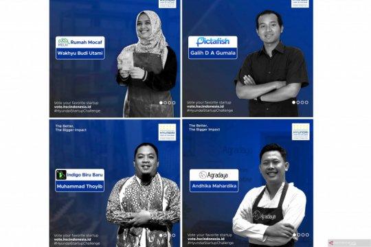 Hyundai Indonesia umumkan empat pemenang Start-Up Challenge