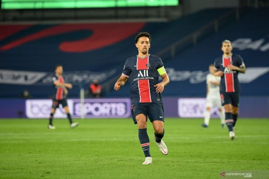 Marquinhos bantah rumor tinggalkan PSG, ingin habiskan karier di Paris