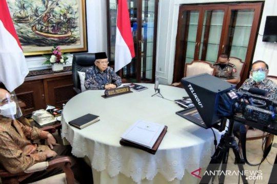 Wapres harap semakin banyak produk halal Indonesia tembus pasar global
