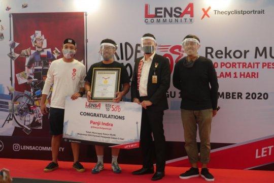 Lensa Community sabet rekor MURI foto pesepeda terbanyak