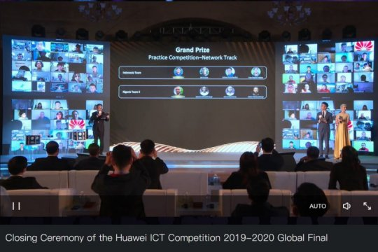 ITB juara Huawei ICT Competition 2019-2020