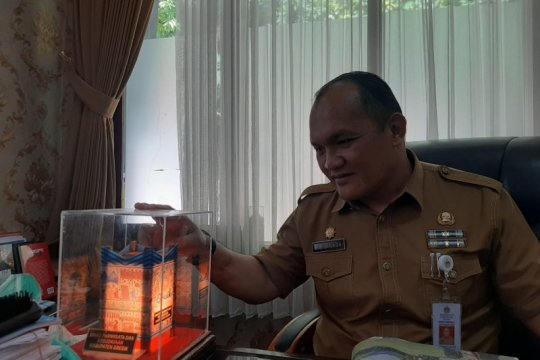 Damar Kurung dijadikan ikon Kabupaten Gresik-Jatim