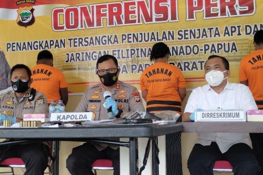 Polda Papua Barat gagalkan perdagangan senpi ilegal dari Filipina