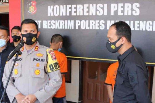 Polres tangkap dua pencuri modus operandi pasang CCTV