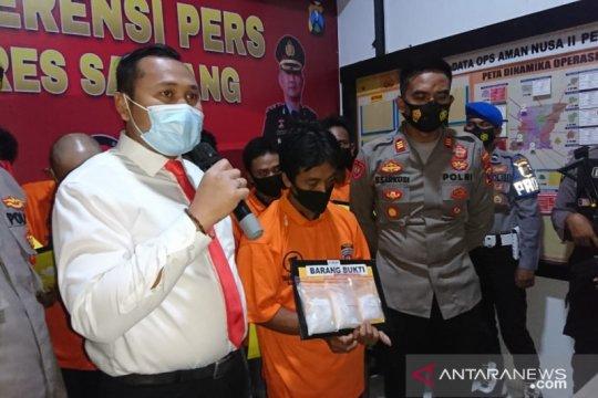 Polres Sampang gagalkan pengiriman narkoba senilai Rp450 juta