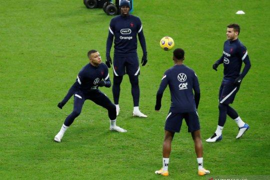 UEFA Nations League: Prancis latihan jelang melawan Swedia