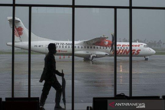 Layanan transportasi udara di Natuna selama pandemi