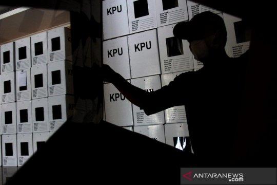 Logistik kotak suara Pilkada Tangsel