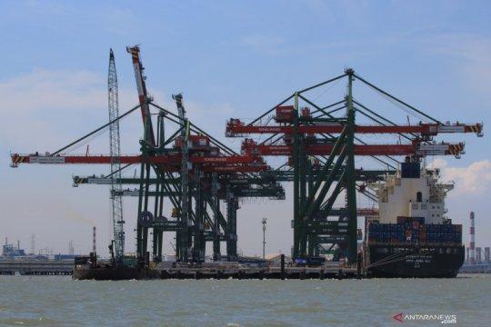 Jumlah kapal sandar di Terminal Teluk Lamong naik pada 2020