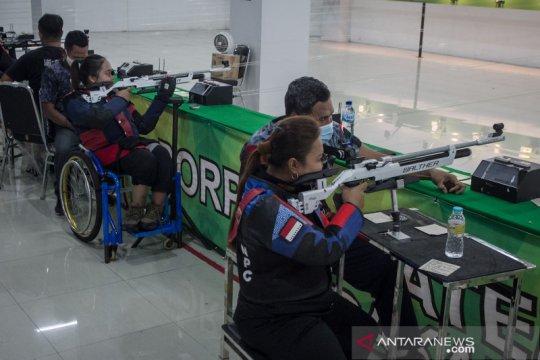Pelatnas menembak persiapan Paralimpiade Tokyo 2021
