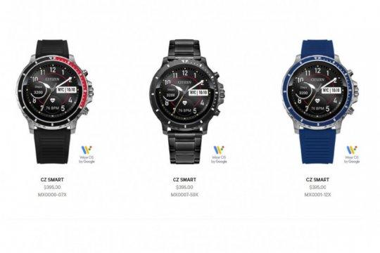 Citizen luncurkan CZ Smart, smartwatch dengan layar digital sentuh
