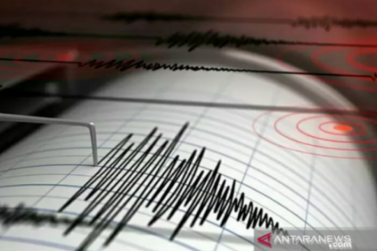 Gempa magnitudo 5 getarkan Bengkulu Sabtu tengah malam