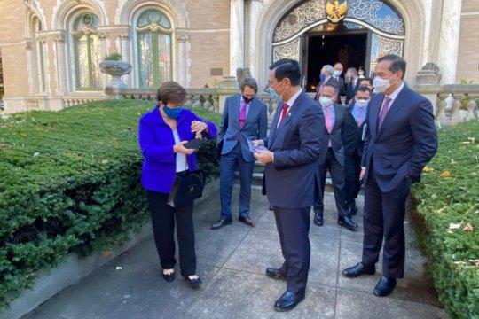 Luhut temui bos IMF-Bank Dunia hingga USTR di AS