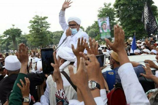 Polda Metro sidik dugaan pelanggaran prokes Rizieq Shihab