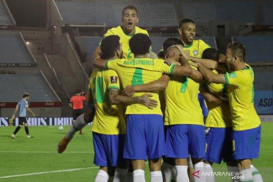 Brazil menang 2-0 atas Uruguay