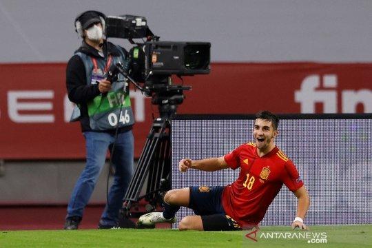Spanyol cukur Jerman 6-0 untuk melangkah ke empat besar Nations League