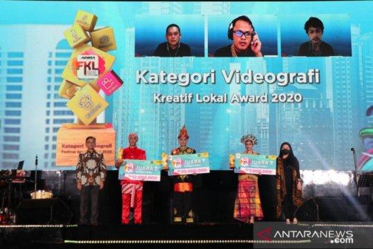 Belasan UKM raih penghargaan di ajang Festival Kreatif Lokal 2020