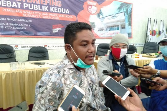 KPU Surabaya perketat protokol kesehatan di debat publik kedua