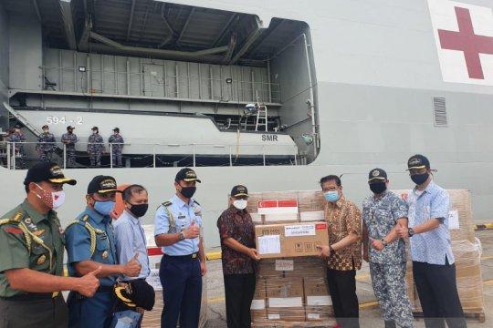 Indonesia kembali terima bantuan COVID-19 senilai Rp120 miliar
