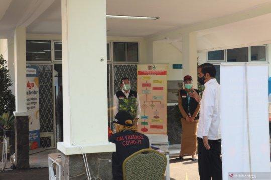 Jokowi akui persiapan distribusi vaksin perlu proses