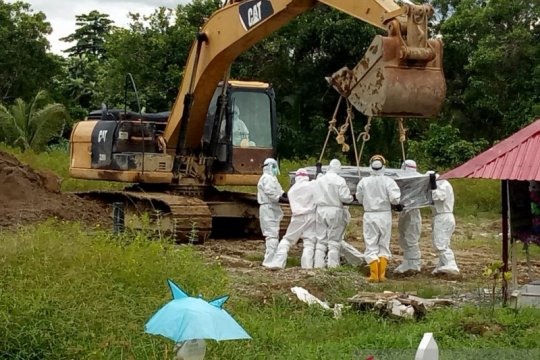 Perwakilan Imigrasi Papua hadir pemakaman WN Ukraina terpapar COVID-19