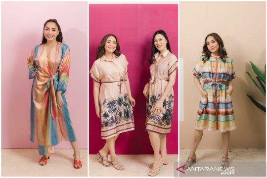 """Nagita Slavina dan Cynthia Tan luncurkan koleksi baju tidur """"Claire"""""""
