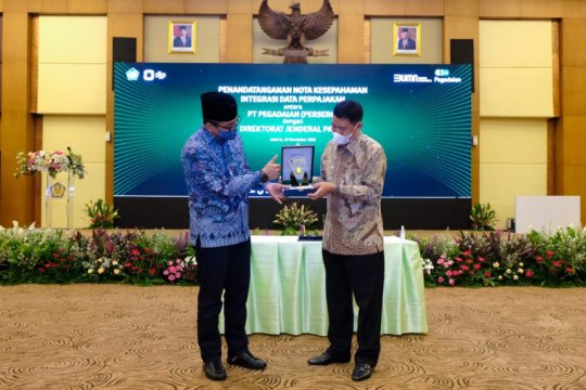 DJP kerja sama integrasi data pajak dengan Pegadaian