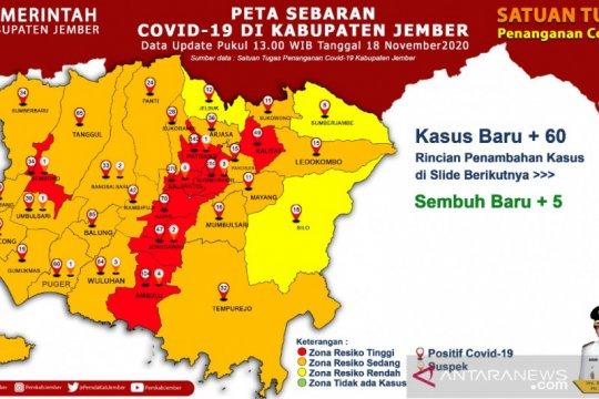 Satgas : Kampanye pilkada di Jember penyebab naiknya kasus COVID-19