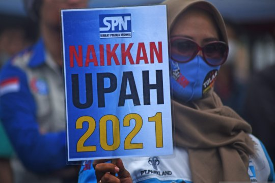 SP Nasional: Penolakan UU Cipta Kerja tetap jaga situasi kamtibmas