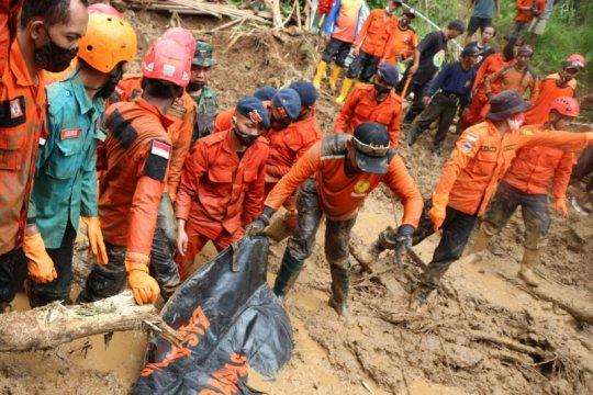 Basarnas: Seluruh korban longsor di Banyumas telah ditemukan