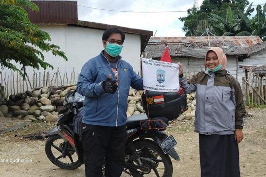 Bermotor 13 ribu kilometer dari Sulawesi demi ikut MTQ di Padang