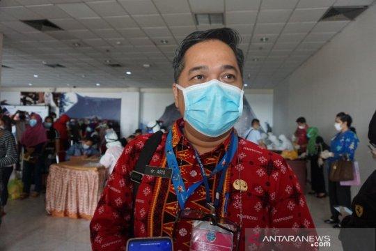 Penambahan kasus COVID-19 di Sumut masih didominasi dari Medan