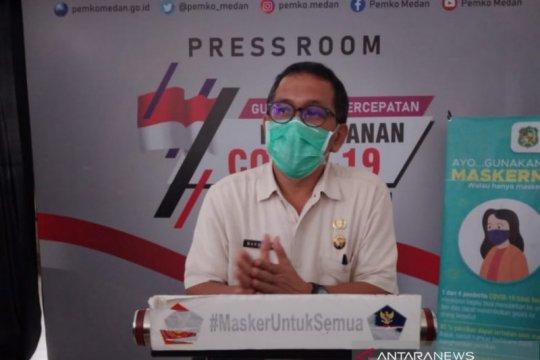Angka kesembuhan COVID-19 di Medan capai 5.899 orang