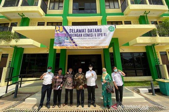 Komisi V DPR RI apresiasi pembangunan Rusun Institut Ilmu Al Quran