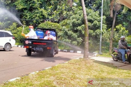 Ade Yasin positif COVID-19, Pendopo Bupati Bogor disterilisasi