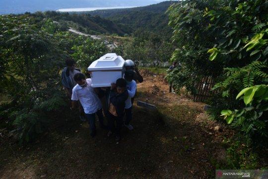 Pemindahan jenazah terduga kelompok teroris MIT