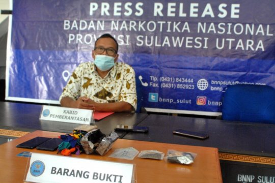 BNNP Sulut ringkus dua tersangka beli ganja secara patungan