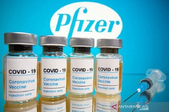 Pfizer: Rantai pasokan berkontribusi pada penurunan dosis vaksin