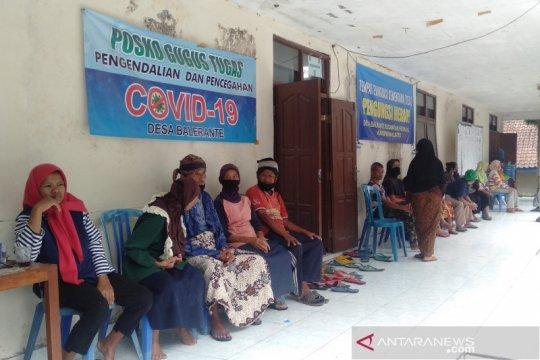 Jumlah pengungsi Merapi di Kabupaten Klaten di bawah 50 persen