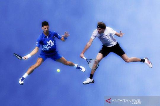 Djokovic vs Zverev berebut tiket semi final ATP Finals