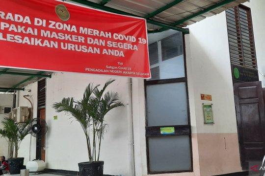 Pengadilan Negeri Jakarta Selatan tutup tujuh hari imbas COVID-19