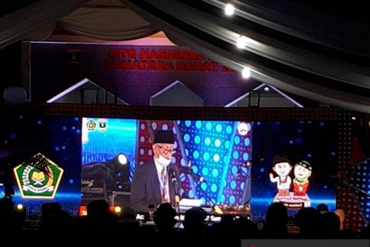 Sumatera Barat juara umum MTQN 2020