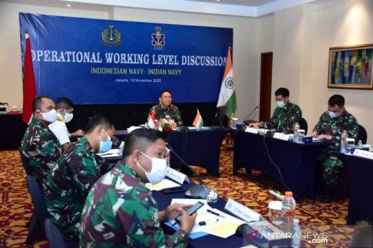 TNI AL mempererat hubungan kerja sama dengan Angkatan Laut India
