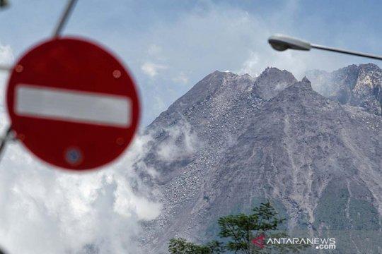 Gunung Merapi sembilan kali keluarkan suara guguran