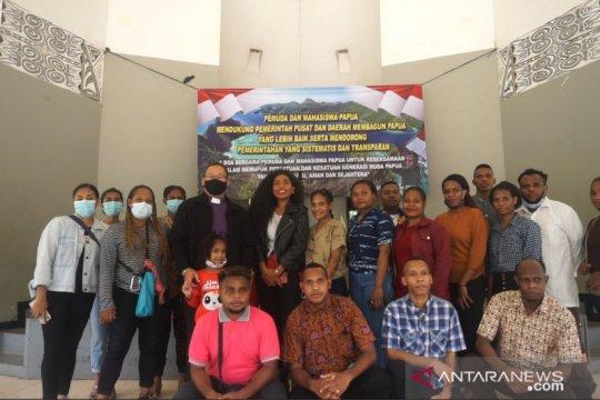 Pemuda Papua dukung pemerintah bangun daerahnya yang lebih baik